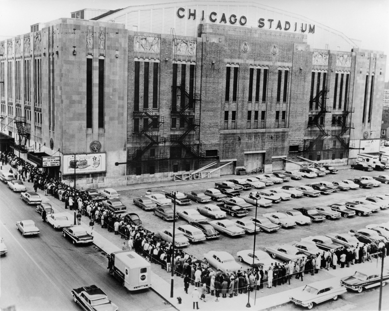 Vintage Chicago Stadium -