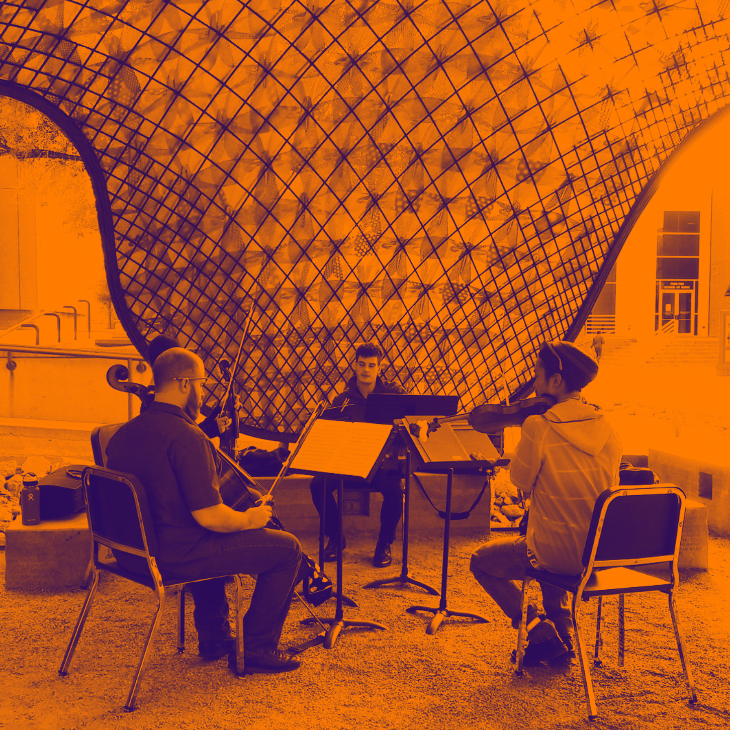 Musicians under the gridshell GRADIENT MAP.jpg