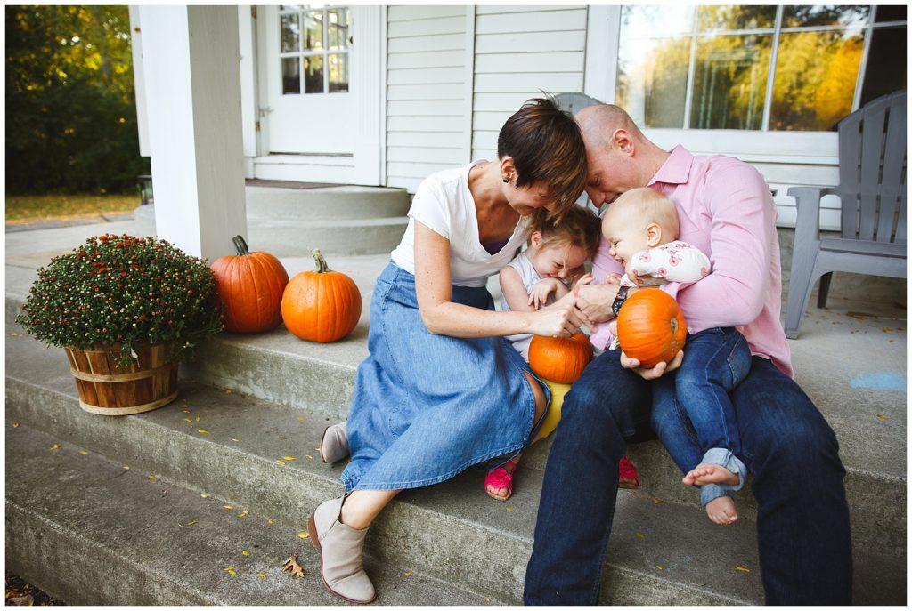 Fall family fun at home.