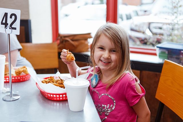 Happy Monday! See you tonight from 5-8pm for Family Night - kids 12 and under eat free!