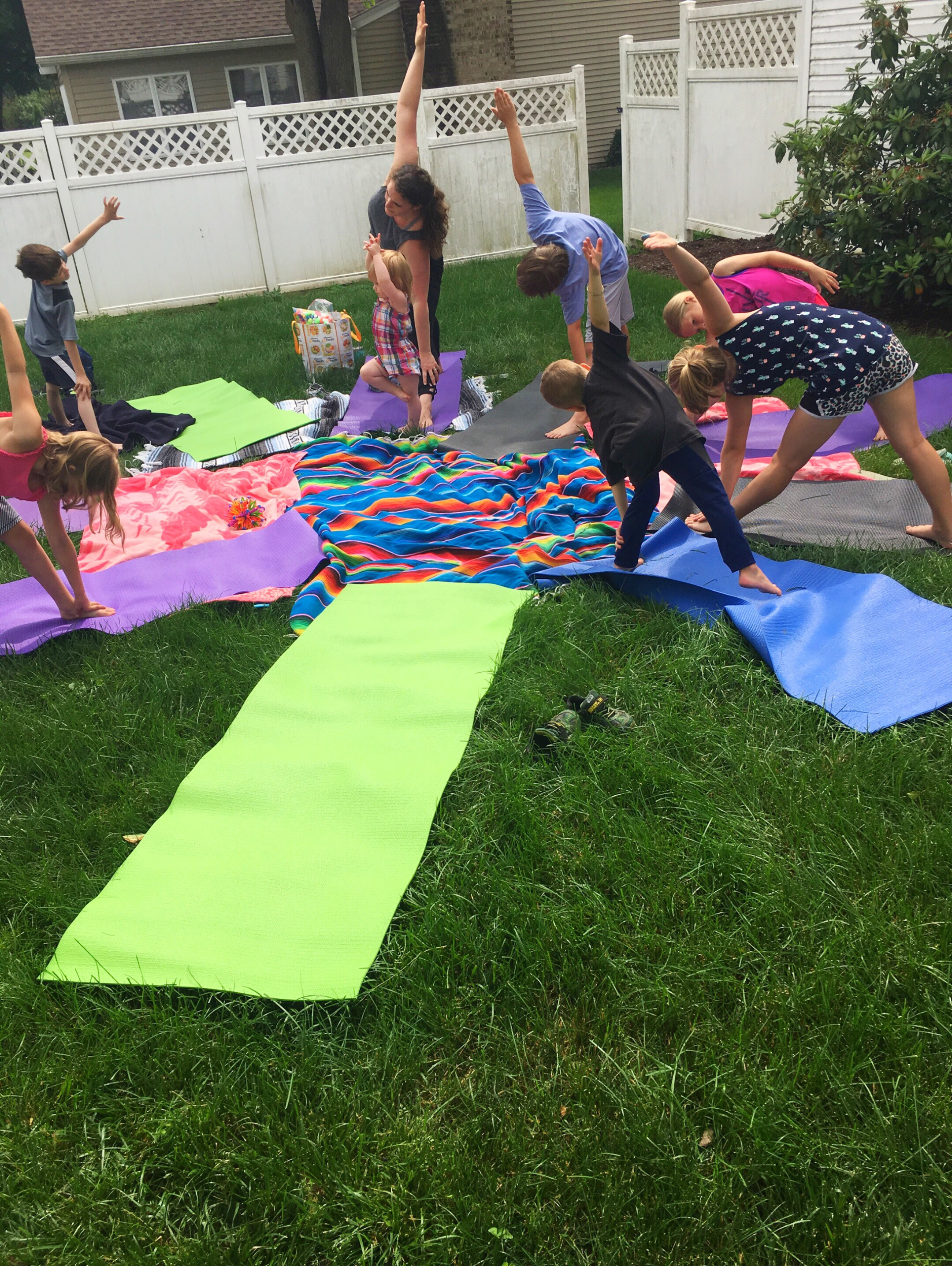Physical yoga poses not only help children with strength and flexibility, but also focus, concentration, self esteem, and emotional regulation. Photo: Wise Star Wellness, Central Pennsylvania Kids Yoga