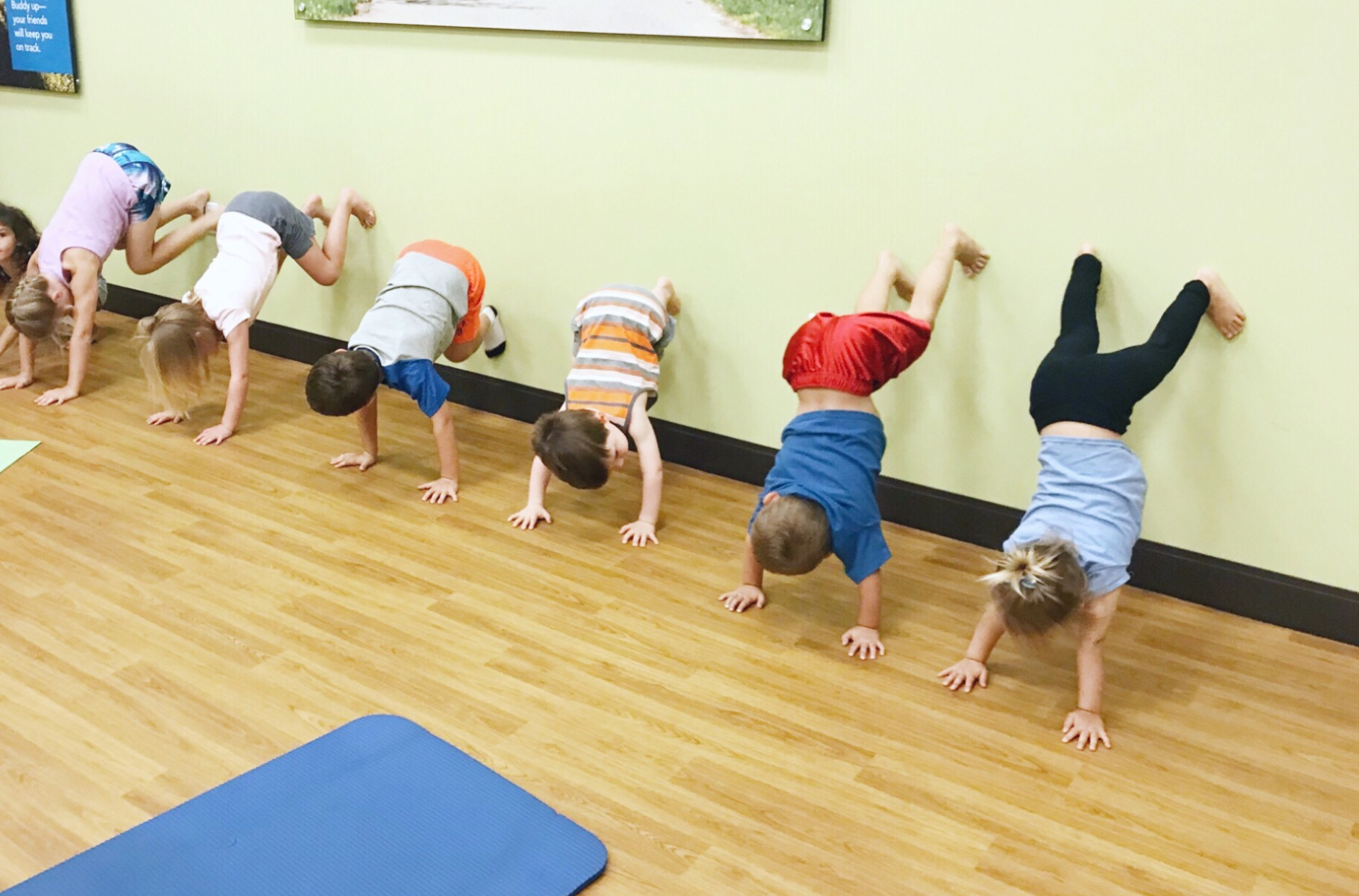 STORYTIME YOGA—Hampden Marketplace   Parents, join your toddler (ages 2-5 years) on a fun story adventure that will bring yoga poses and breathing exercises to life! This dynamic class will have your child barking in downward dog and hissing in cobra, helping children strengthen coordination and body awareness, give them techniques to calm and relax, and promote bonding between parent and child. Please bring your own mat.