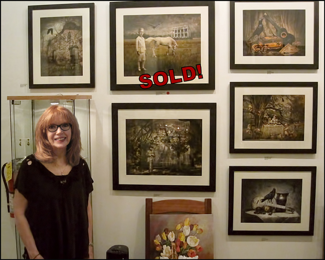 My first exhibit with River Queen Artisans Gallery in Lambertville, NJ, School's Out, 2014.
