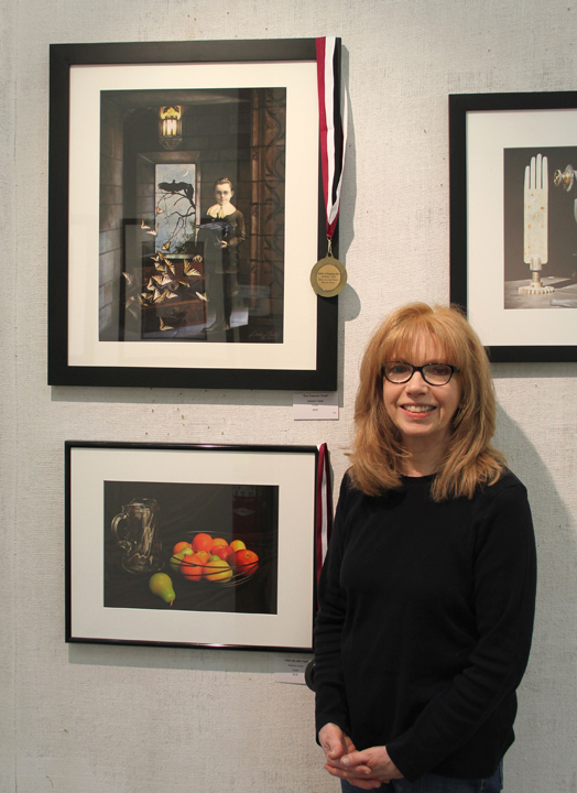 """Best in Show award for """"The Treasure Chest"""" in Eyesights 2014 at The Guild of Creative Art in Shrewsbury, NJ."""
