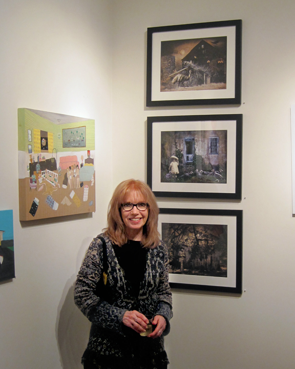 Opening reception for Juried 2013 at Parlor Gallery, Asbury Park, NJ.