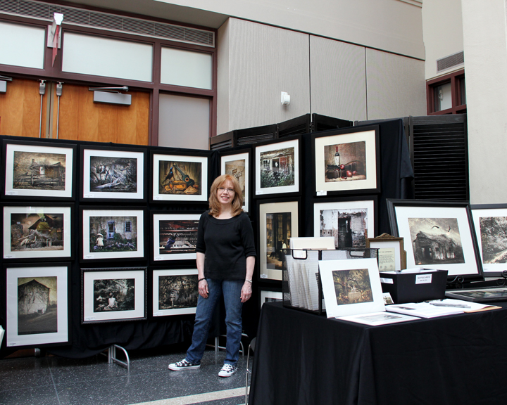 My booth at The Affordable art Fair, 2013, Montclair Art Museum, Montclair, NJ.