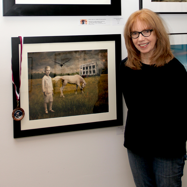 "Achievement Award for ""All the Pretty Little Horses"", Eyesights 2015, Guild of Creative Art, Shrewsbury, NJ."