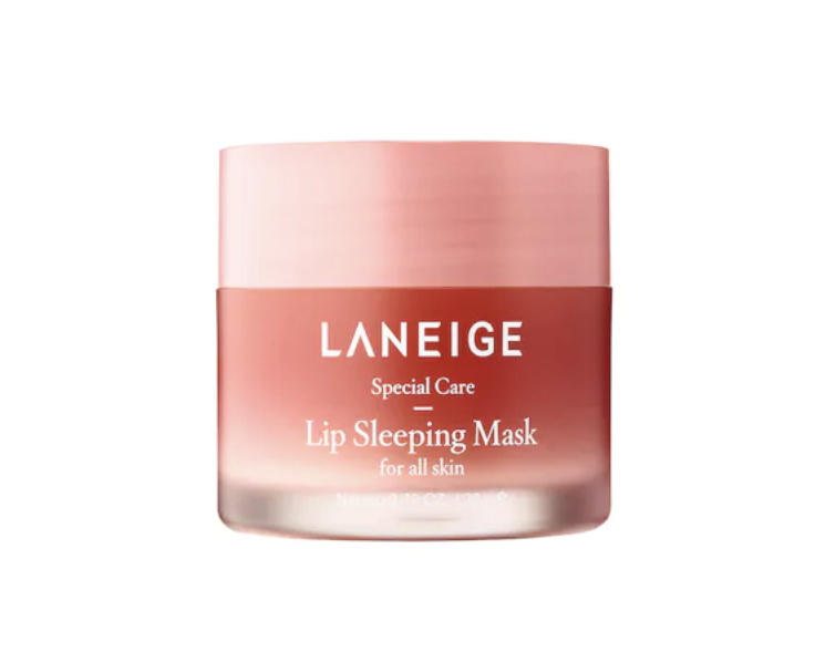 laneige lip sleeping mask - I like to use this lip mask during the day rather than at night, because it feels a little sticky like a lipgloss would feel. This lip mask smells amazing & makes your lips so soft!
