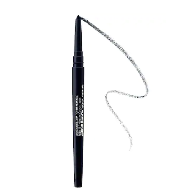 "smashbox waterproof eyeliner - This has been my favorite eyeliner for a while because I love how it sharpens itself every time I open and close it! It is also waterproof, which every girl needs.I use shade ""Penny Lane"""