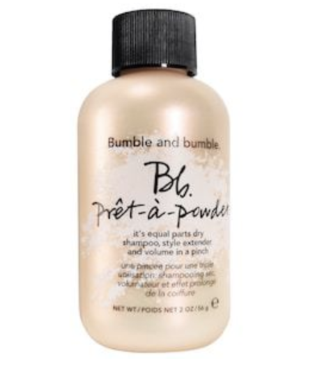 bumble and bumble pret-a-powder - Okay you guys, here it is…my absolute favorite hair product. I like to use this all the time, especially when my hair is clean to add volume and texture (again, refer to my YouTube tutorial if you're curious on how I do it here).