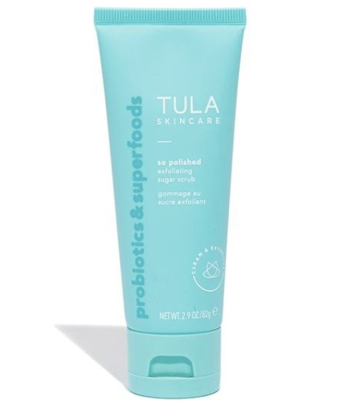 TULA FACE EXFOLIATING SUGAR SCRUB - Tula just recently released this product and I have been loving it! I use it to exfoliate my face every other night before bed (before I wash my face) and it leaves my skin feeling SO smooth and rejuvenated. I haven't found anything like this!
