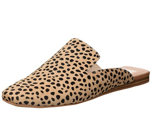 dolce vita leopard mules - One of my favorite pairs of mules (because leopard, duh). They are so easy to just slip on, and I like to wear them with jeans and a plain colored tee to dress the look up a bit.