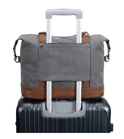 carry on tote - This carry on bag is what I use every time I travel on planes. It's big enough to carry my laptop, snacks, charger, lipstick, phone, book, sweater, etc. It also sits perfect on top of your luggage while you're at the airport- makes life so much easier! Best carry on I've ever had.