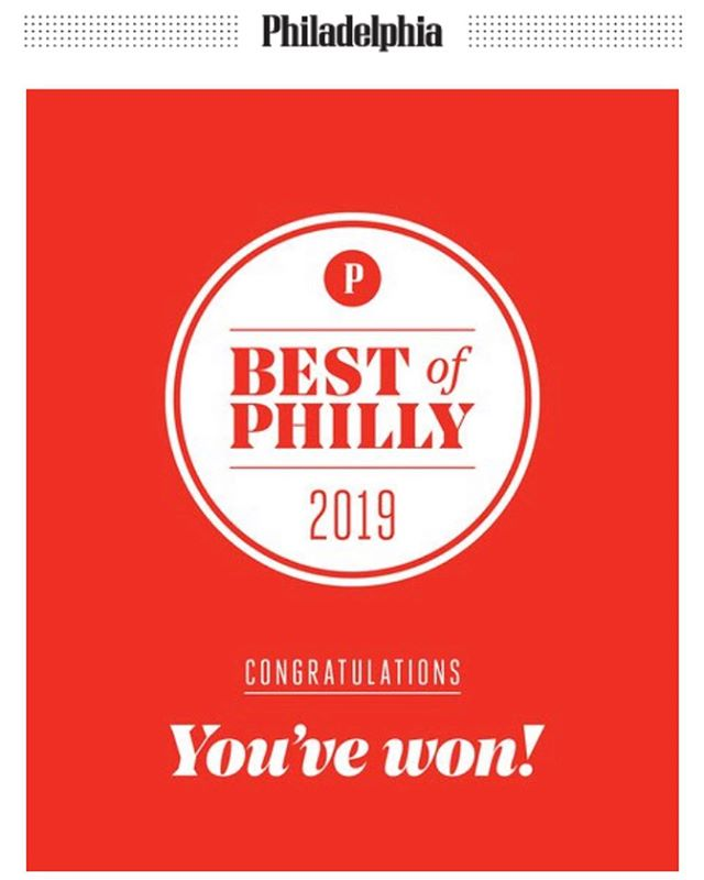 We are honored to be selected! Thanks for your support on our first year out. The journey continues and the hard work is still there! Much love @phillymag #bowercafe