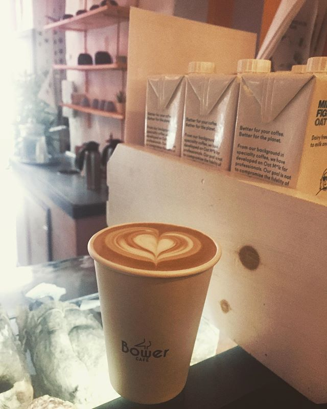 That cool breeze gets you in the latte Steeze! #bowercafe
