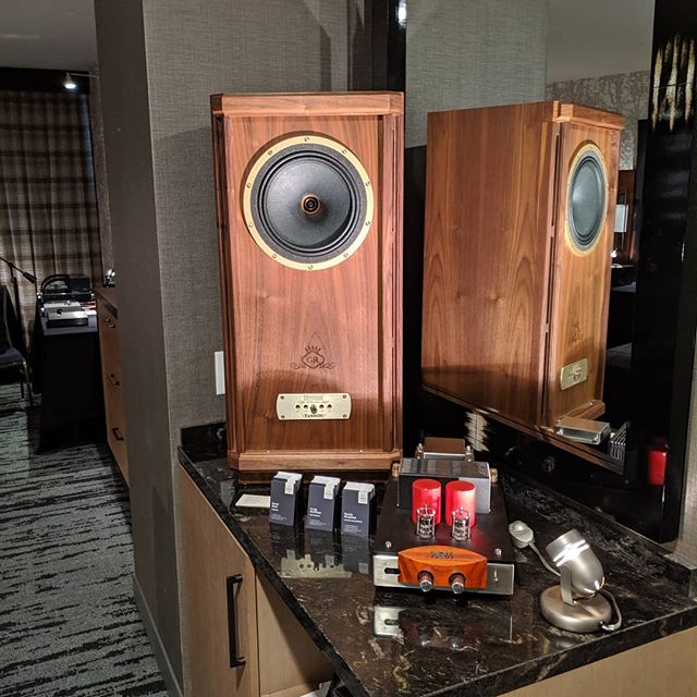 Upscale is proud to announce at @rmafdenver that we are the new distributor for Tannoy loudspeakers in the U.S. and Canada! @tannoy1926 Visit us in Room 7128 to discuss selling Tannoy in your store!  #hifi #rmaf #audioporn #audiophile