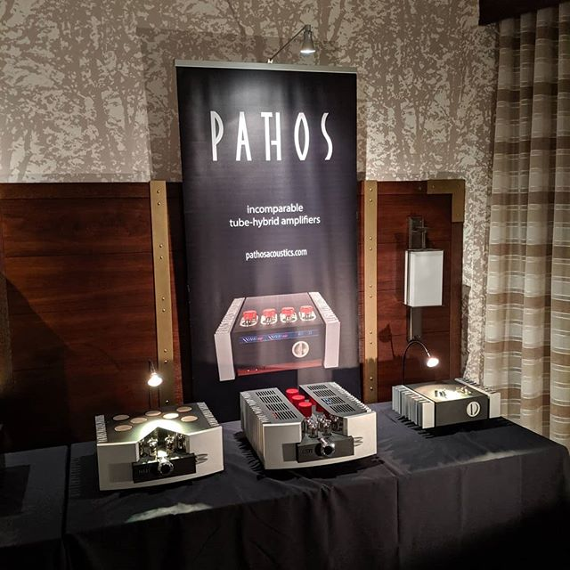 Stunning Italian design and remarkable sound from @pathos_acoustics. Visit us in Room 7128 for an inside look here at @rmafdenver  #rmaf #hifi #audioporn #audiophile