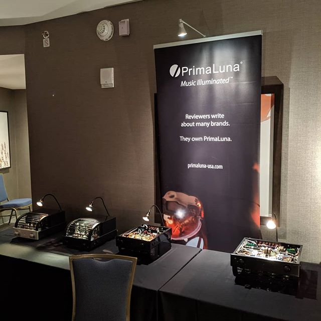 We're at @rmafdenver sharing the @primaluna_audio love. Visit Room 7128 to see how well these amps are built. Compare to anything at any price; you'll be amazed!  #rmaf #hifi #audioporn #audiophile