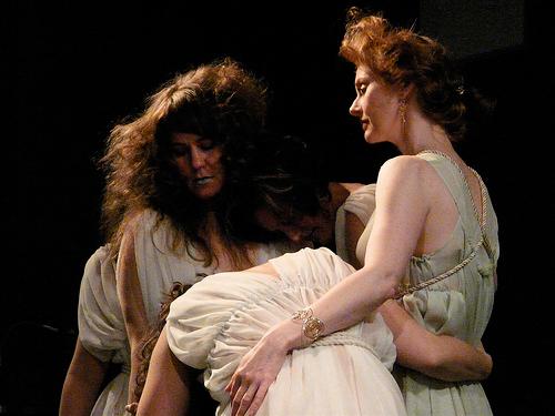 Amanda Barron as Helen of Troy in The Beauty Project