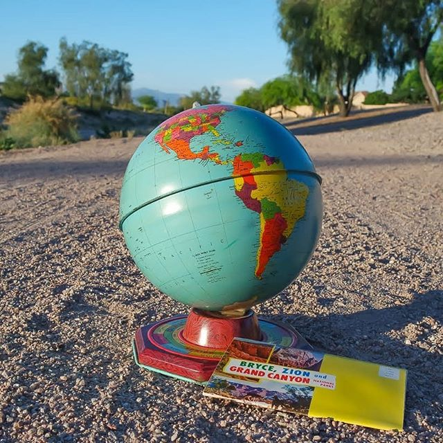 Celebrating our world and it's amazing offerings with Earth Day & National Park Week! 🌎♻️🌵 #earthday #nationalparkweek #worldofarizona #findyourpark #grandcanyon #brycenationalpark  #zionnationalpark #vintage #thinkgreen #midcentury #americana #recreation #cleanitup #respectyourworld #state48 #azfuninthesun #azrec #woarecreation #arizonafun #explorearizona #arizonarecreation #arizona #thingstodoinarizona #arizonaattractions #tinglobe #blastfromthepast #destinationarizona #recycle