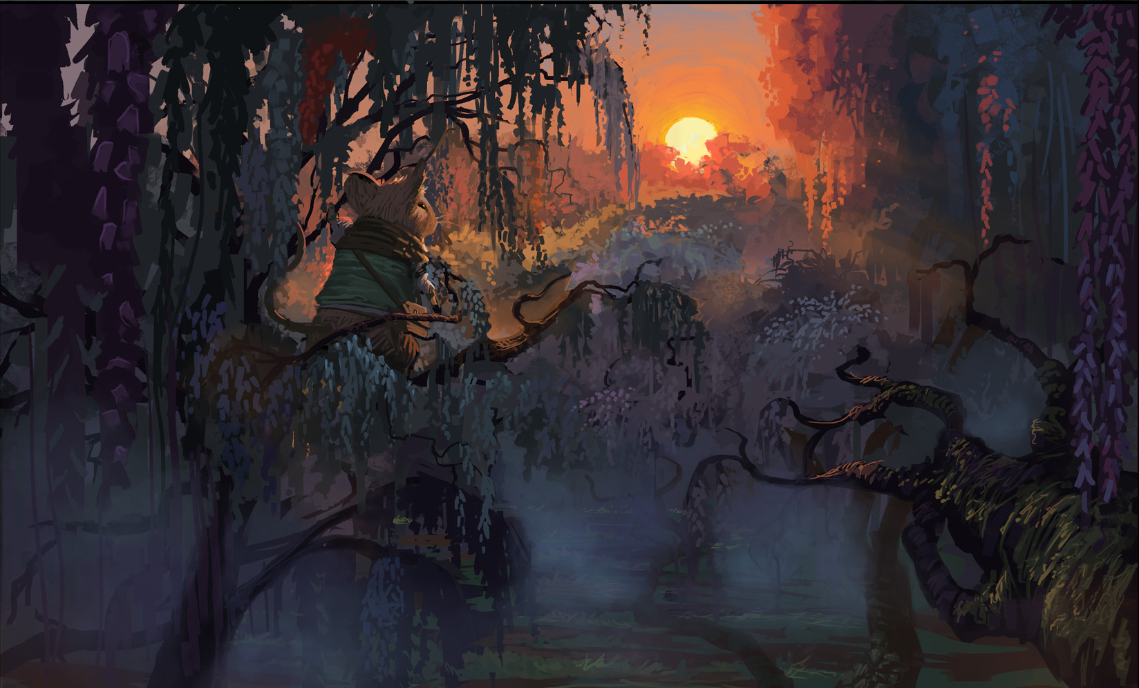 Conceptual art made by Jeremy Adams for Redwall: The Scout