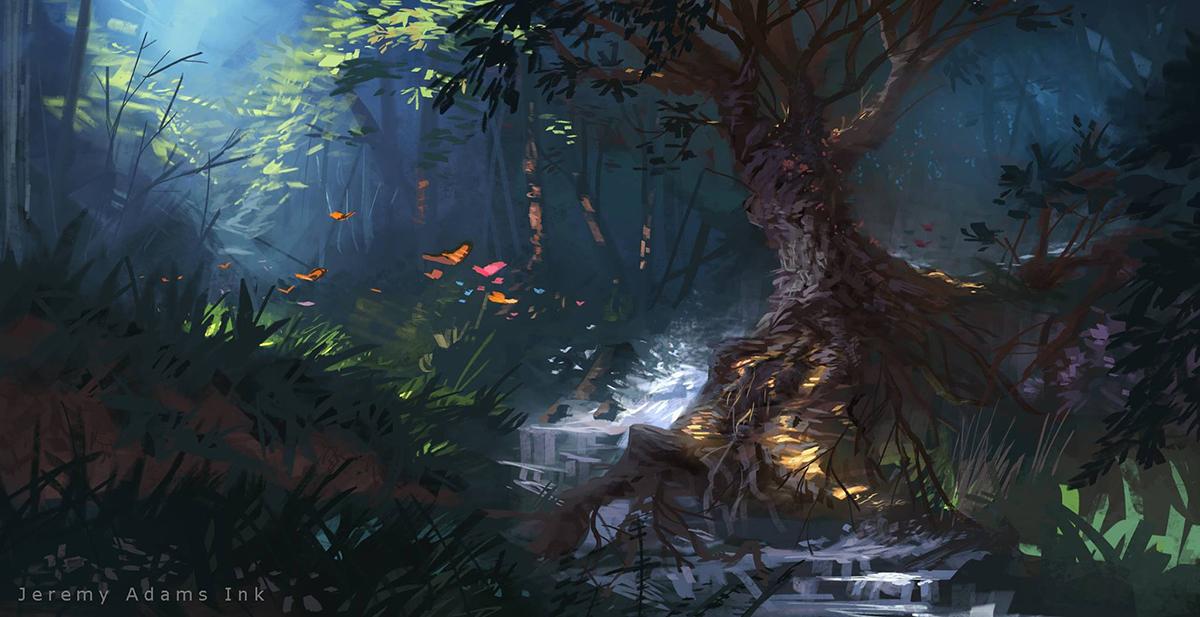 Environment Paintings -