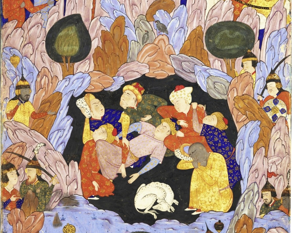 the seven sleepers of ephesus - C. 1550, PERSIA