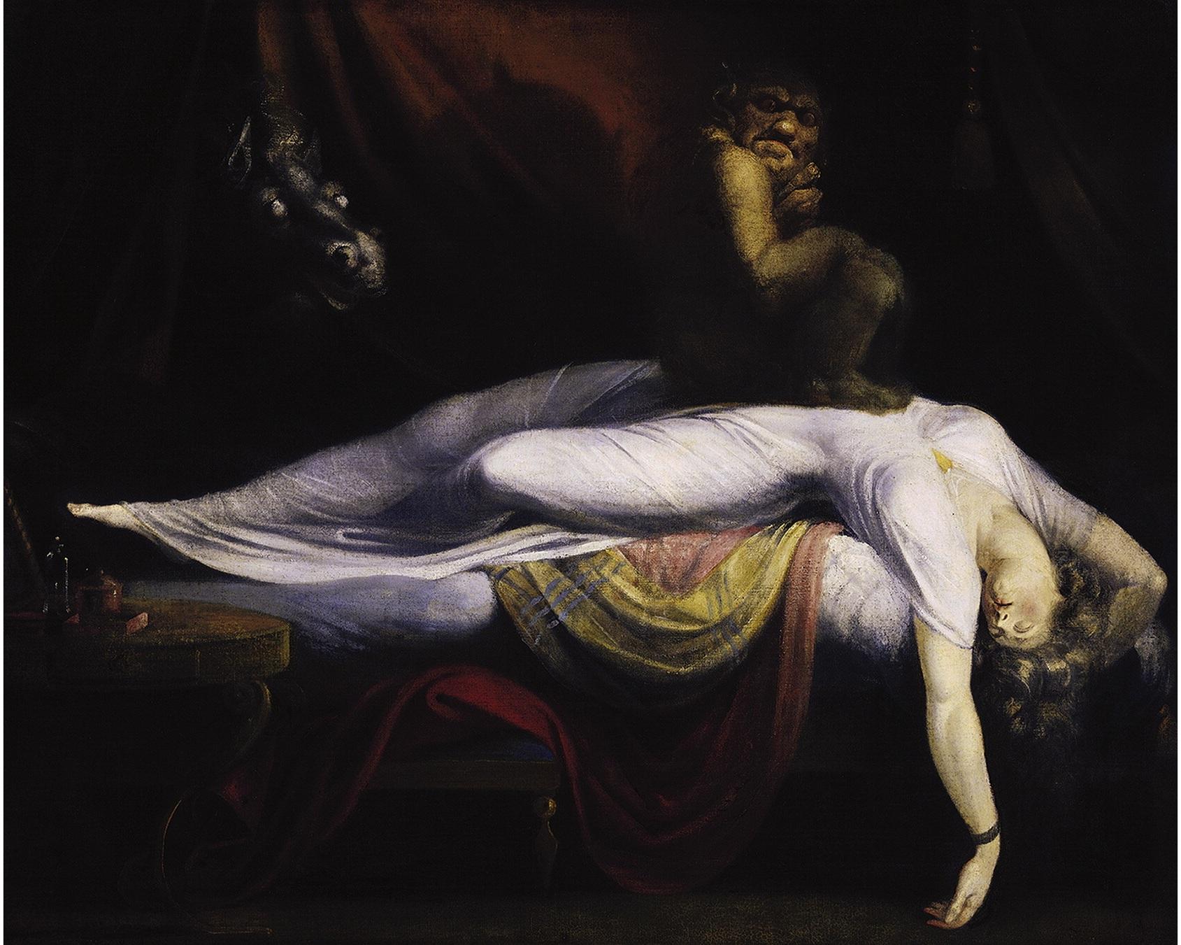 the nightmare - henri fuseli