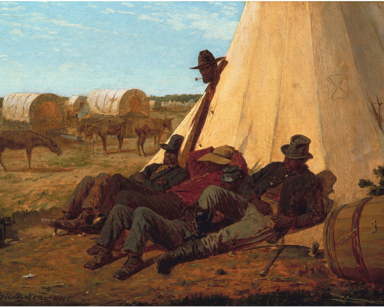 the bright side - winslow homer