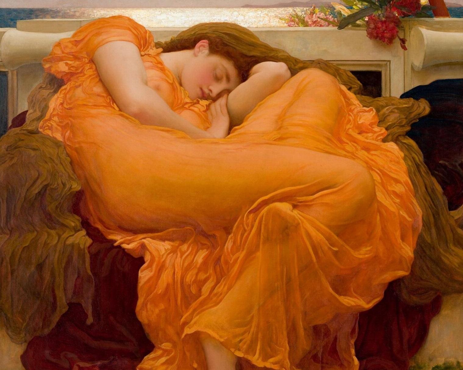 sleeping june - sir Frederic Leighton
