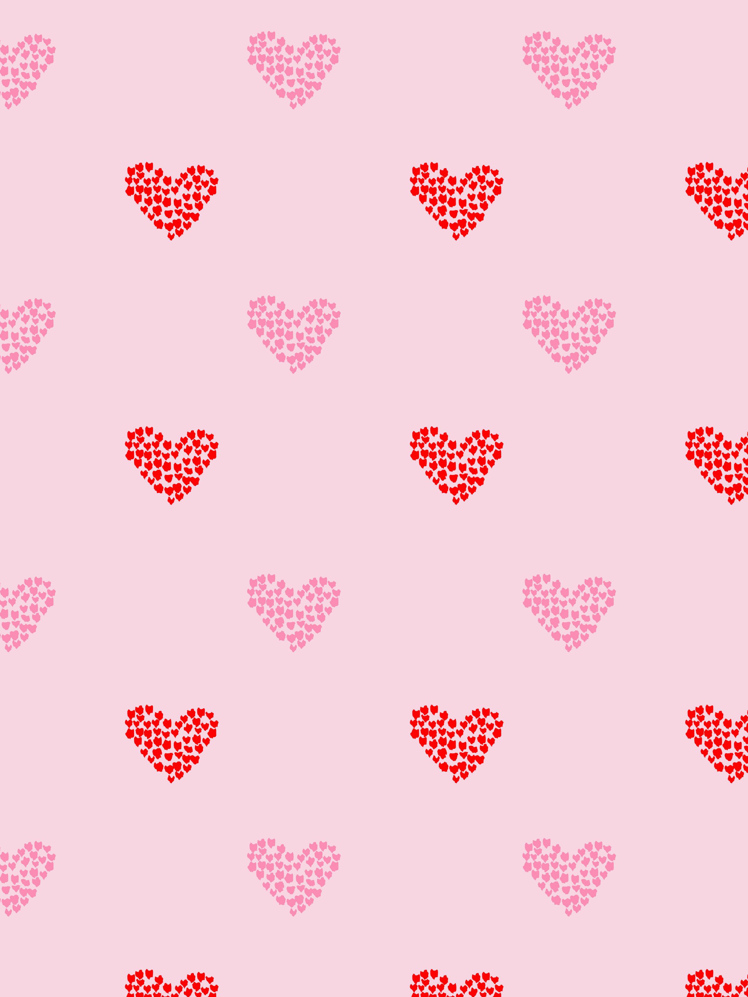 Heart Petals ~ Pink