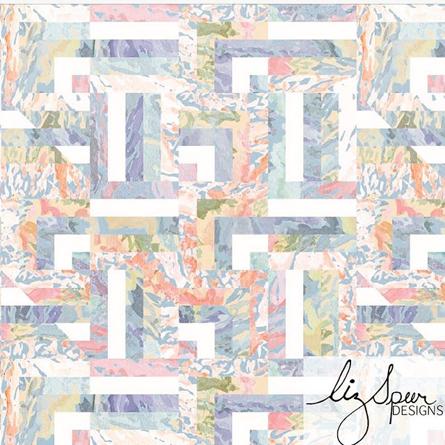 DAY 17 of #100daysofreconstructedpaintedpatterns New Format Patchwork . . #artlicensing #surfacepatternlife #leopard #surfacepatterndesign #patterndesign #textilepattern #printsandpatterns #garmentprints #licensedprints  #watercolor #Abstractpattern  #stationaryshop #wallpaperprint  #textiledesign #handpainted #swimwearprint #designlife #surfacedesign #summerprints  #blueandpink  #reconstructed #textiledesign #art #painterly #100daysofpatterns #abstract  #surfacedesign #surfacepattern #patterndesigners