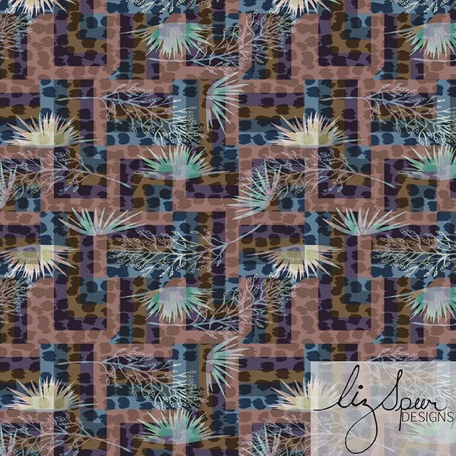 A Remix...DAY 16 of #100daysofreconstructedpaintedpatterns . . . #artlicensing #surfacepatternlife #leopard #surfacepatterndesign #patterndesign #textilepattern #printsandpatterns #garmentprints #licensedprints  #watercolor #Abstractpattern  #stationaryshop #wallpaperprint  #textiledesign #handpainted #swimwearprint #designlife #surfacedesign #summerprints  #blueandpink  #reconstructed #textiledesign #art #painterly #100daysofpatterns #abstract  #surfacedesign #surfacepattern #patterndesigners