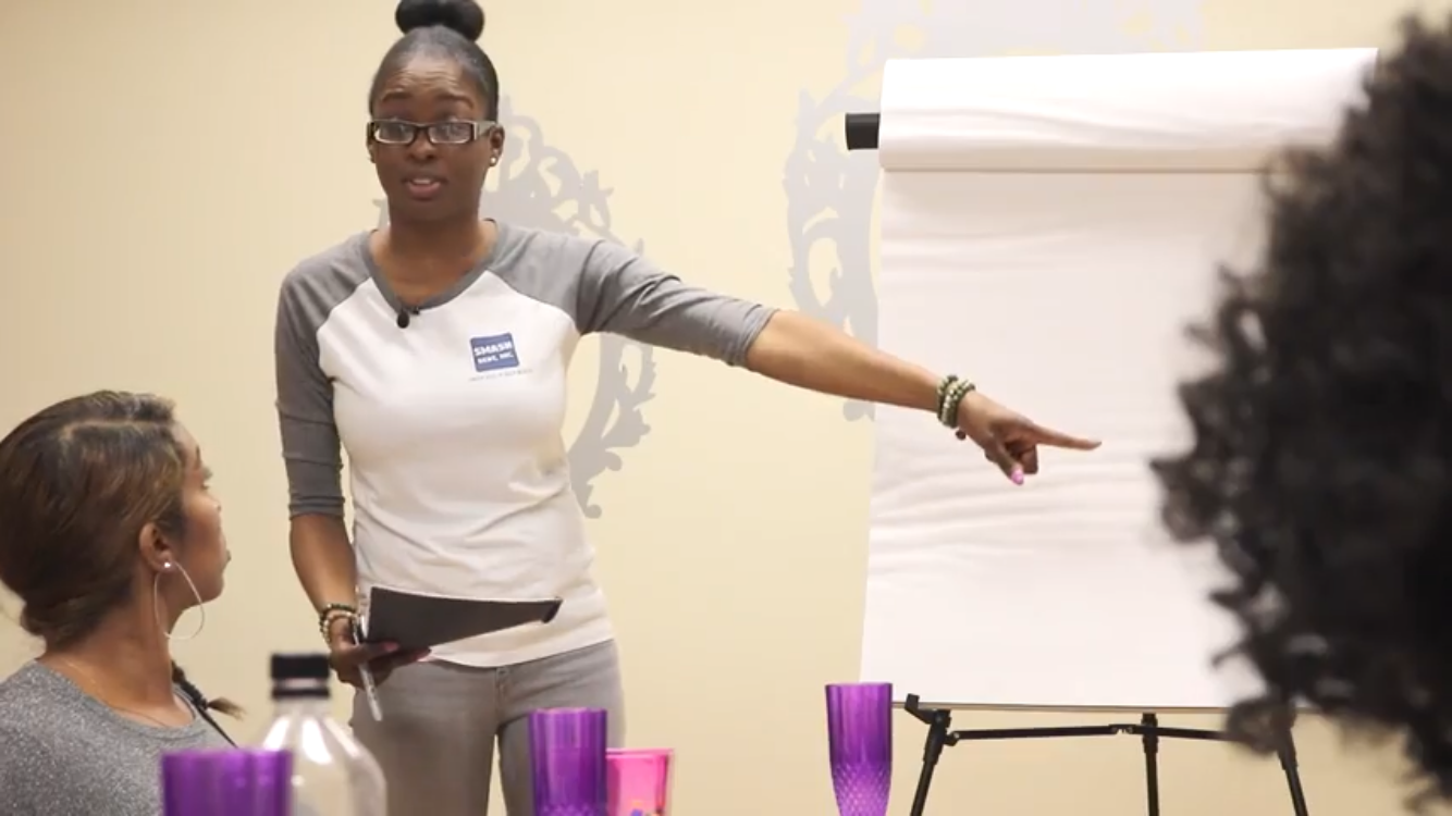 MJB Holistic Hair Care 's 2019 Vision Board Party | Financial Workshop Presenter