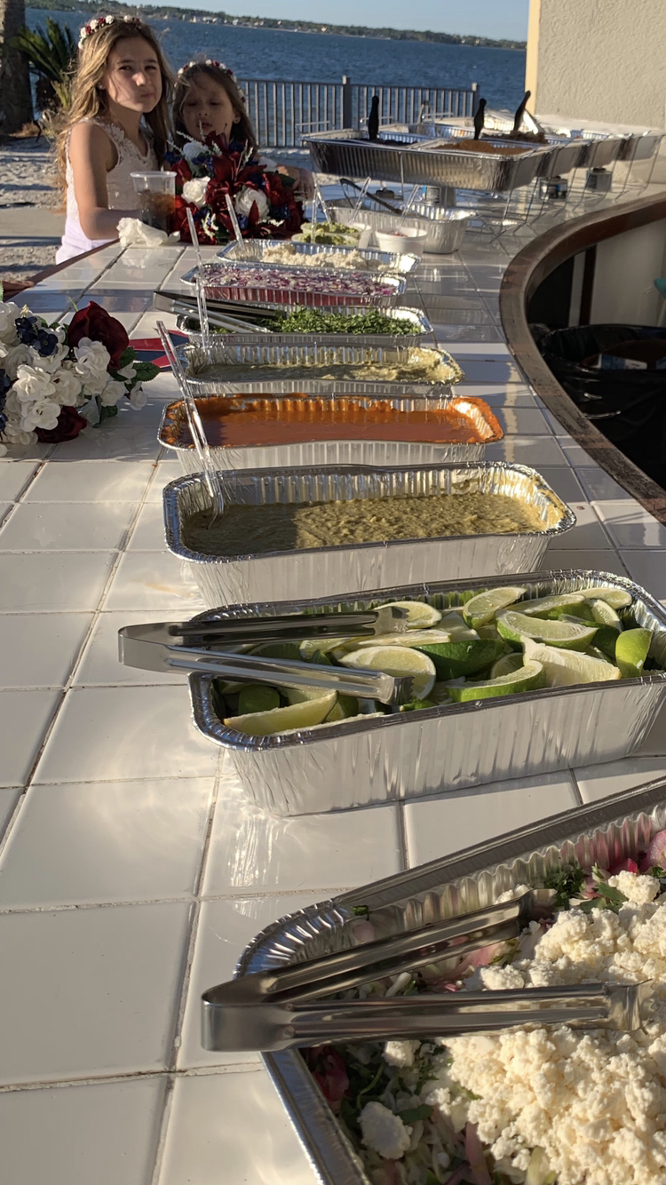 Tacos Mexicanos  is Pensacola's best known taco truck and offers catering for weddings and special events of any size. (IG: @tacosmexicanoss)