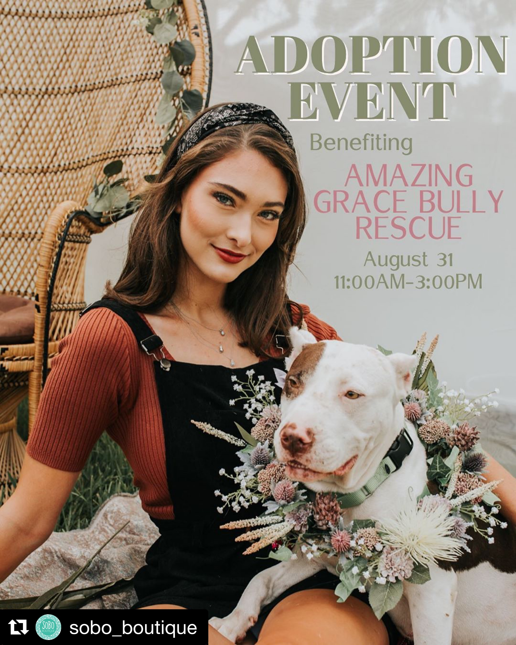 Sobo Boutique and Amazing Grace Bully Rescue