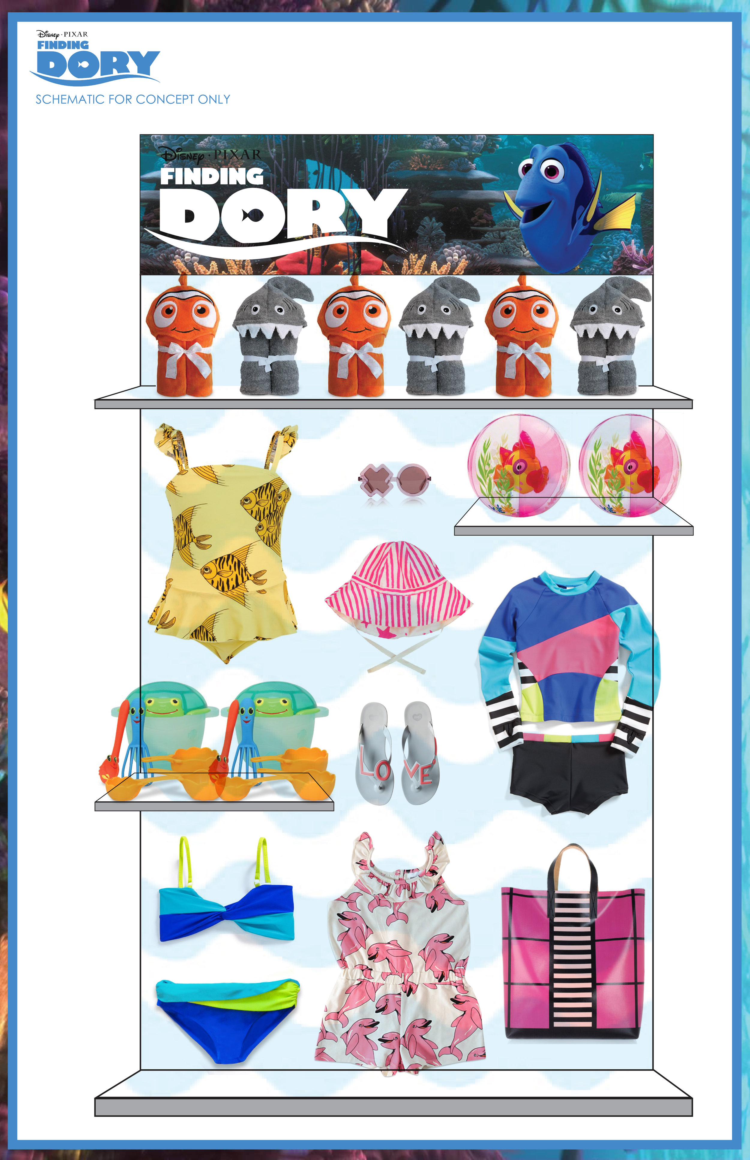 TARGETxFINDING DORY MOVIE LAUNCH VENDOR DIRECTION