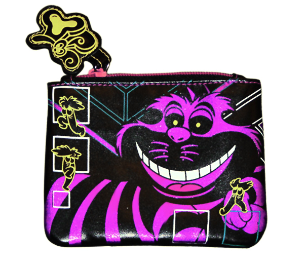 DISNEY CHESHIRE CAT COIN BAG FOR HOT TOPIC