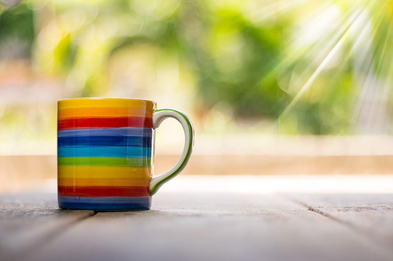 Rainbow Cup for Pride Month