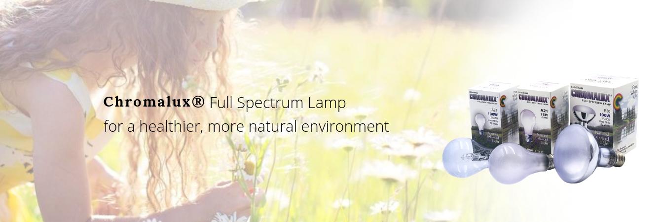 Full spectrum incandescent light bulbs
