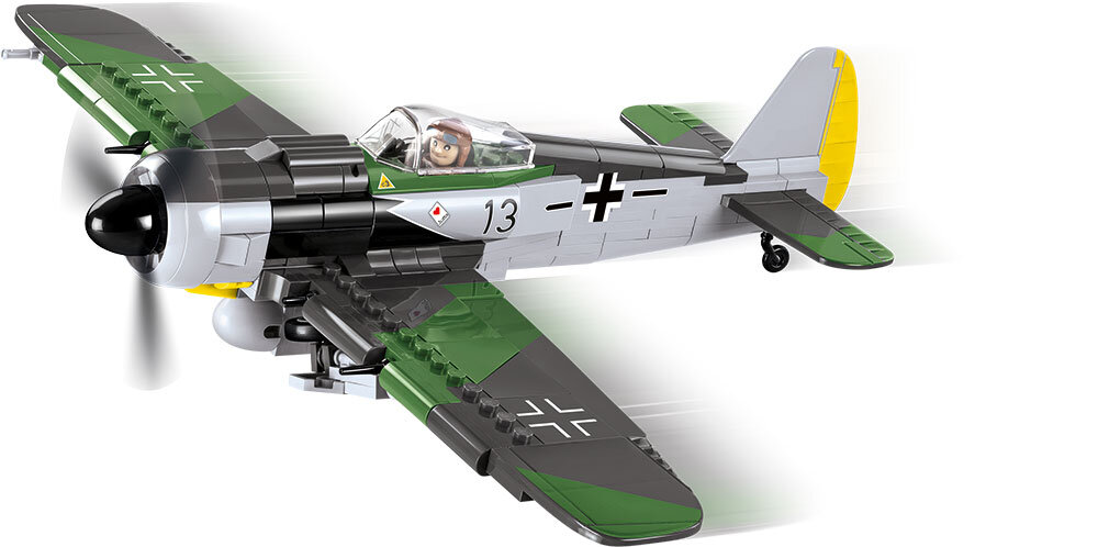COBI TOYS #5704 Small Army Fw190 A-8 Model Building Plane Set