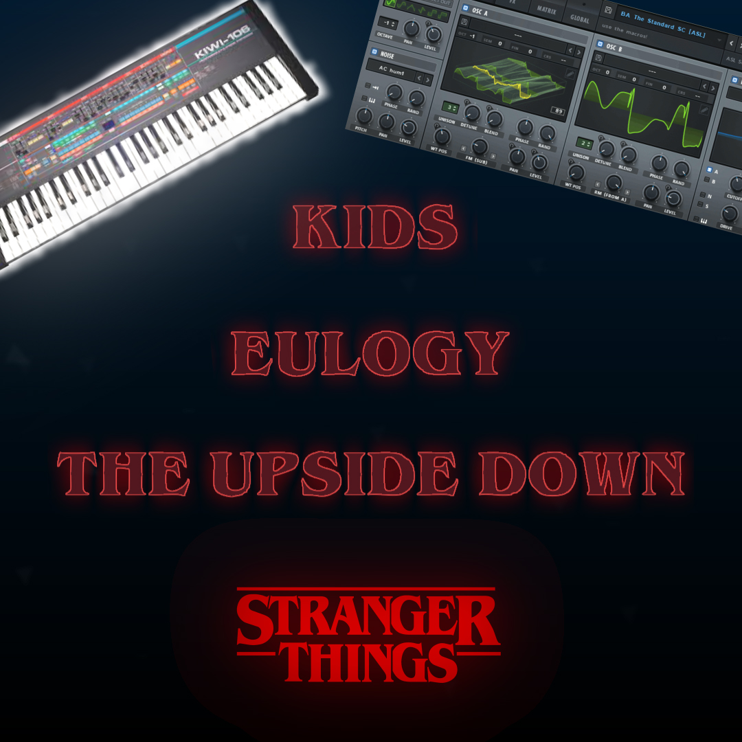 STRANGER THINGS SYNTHS - Serum presets for stranger things synths.