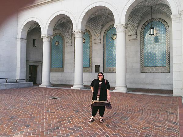Christina-LeBlanc-Los-Angeles-City-Hall-from-Nancy-Drew-and-HTGAWM-photo-by-Live-the-Movies.jpg