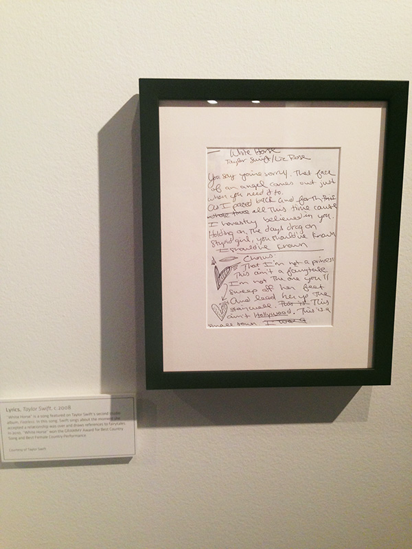 Handwritten-white-horse-lyrics-at-the-Taylor-Swift-Experience-at-the-Grammy-Museum-at-LA-Live-photo-by-Live-the-Movies.jpg