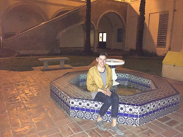 Alex-Jackman-with-fountain-at-Torrance-High-School-as-Sunnydale-High-photo-by-Live-the-Movies.jpg