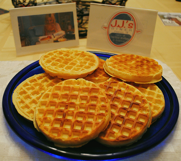 And of course waffles!