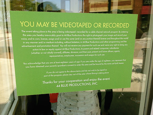 Wahlburgers-You-May-Be-Recorded-Sign-By-Live-The-Movies.JPG