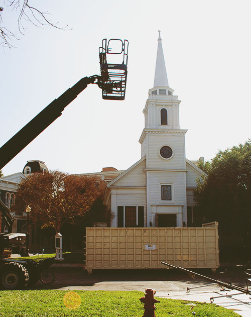 Hart-of-Dixie-Church-Ready-For-Filming-By-Live-The-Movies.JPG