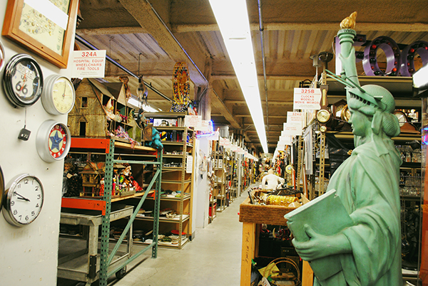 Inside the prop house!