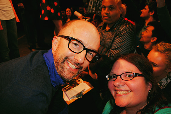 Christina-LeBlanc-with-Jim-Rash-at-Community-PaleyFest-panel-photo-by-Live-the-Movies.jpg